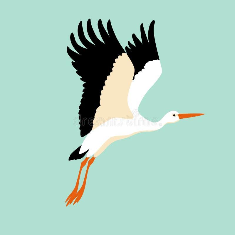 stork vector illustration style flat stock vector illustration of rh dreamstime com stock vector files stock vector art