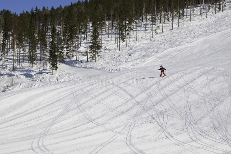 Storklinten, alpine mountane royalty free stock photo