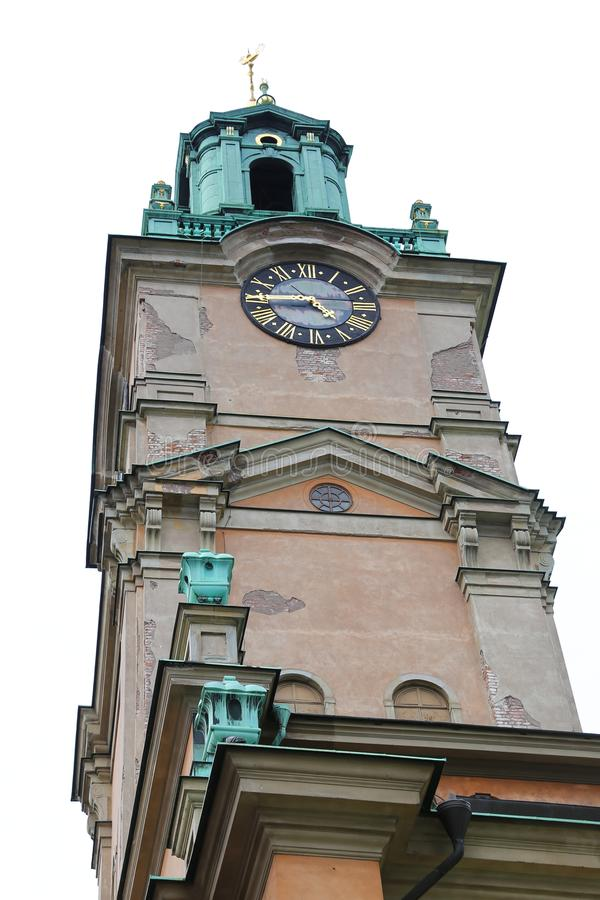 Storkyrkan, catedral de São Nicolau em Éstocolmo, Suécia imagem de stock royalty free