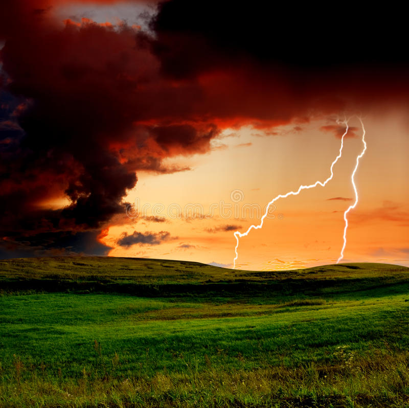 Download Storm stock photo. Image of cloudscape, high, colored - 11310602