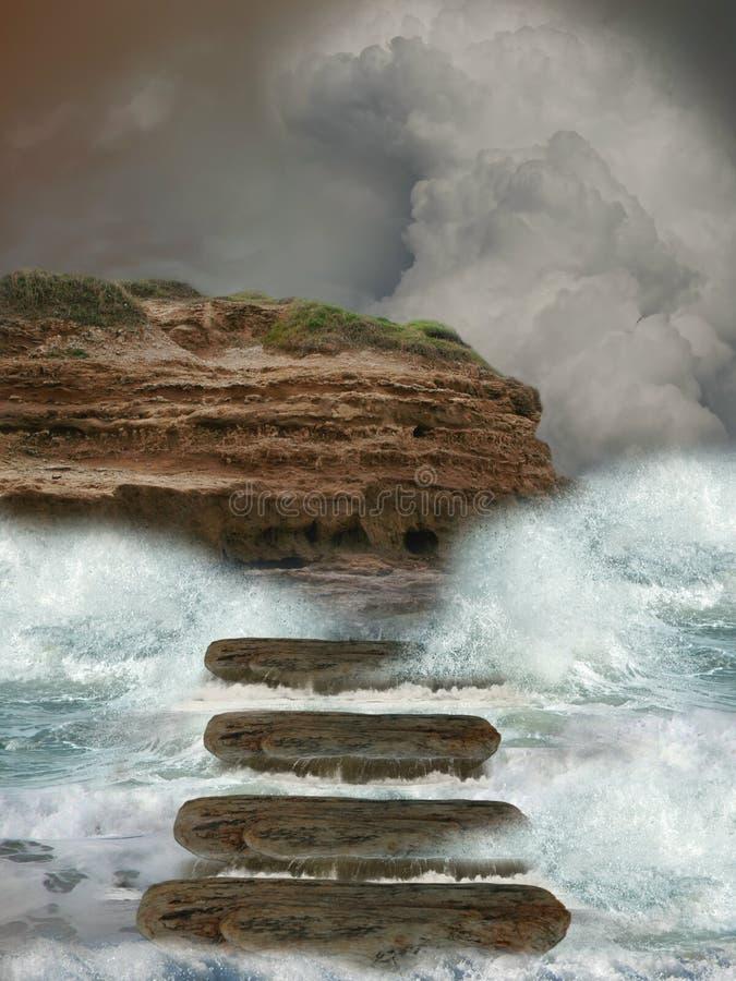 Download Storm stock illustration. Image of fairytale, fantasy - 17758841