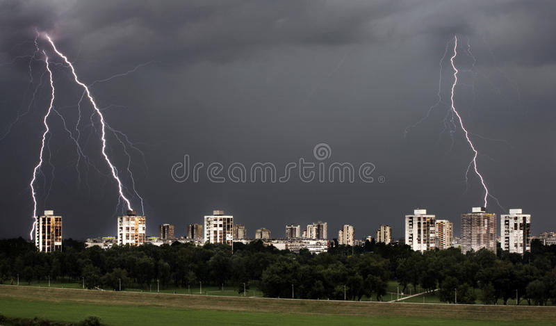 Download Storm stock photo. Image of lightning, storm, detail - 19821936