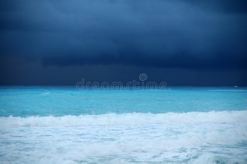 Before the storm royalty free stock images