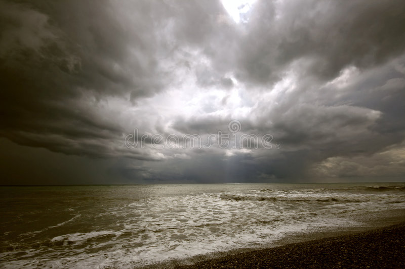 The storm royalty free stock image