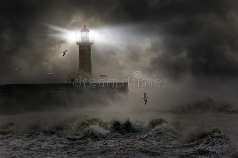 Storm royalty free stock image