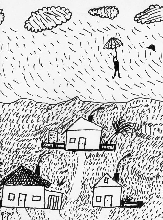 storm stock illustrationer