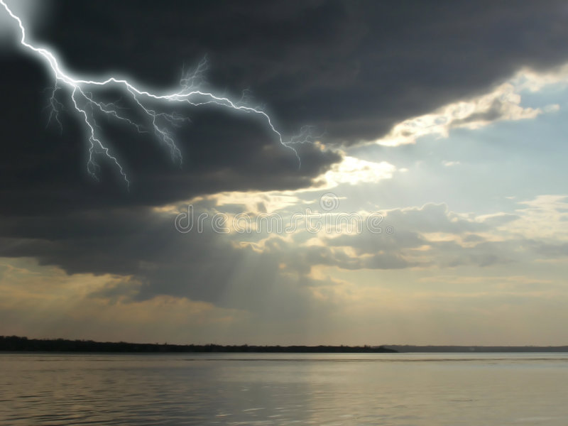 Download Storm stock image. Image of blue, nature, white, cloud - 4654053