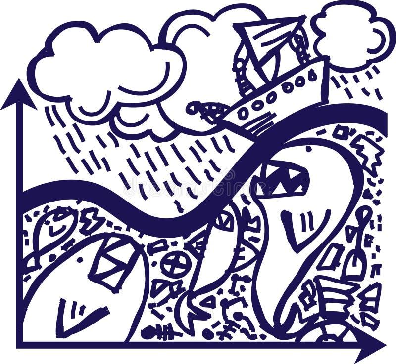 Download Storm stock vector. Illustration of production, rain, plan - 6102362
