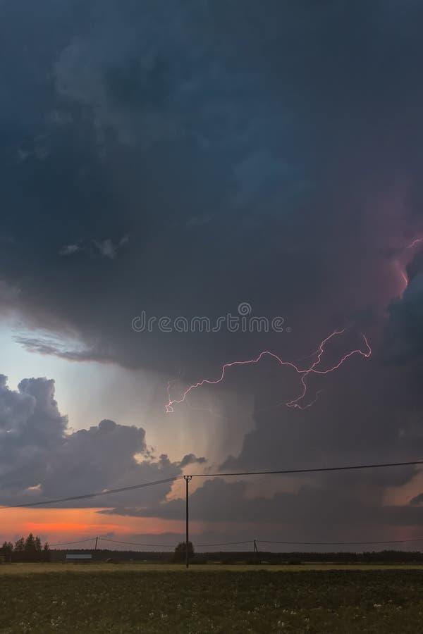 Storm stock afbeelding