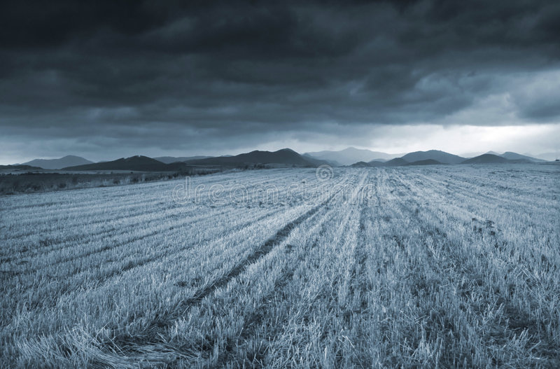 Before The Storm royalty free stock photography