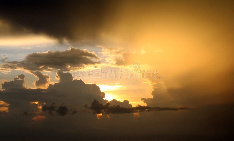 After the Storm stock photography