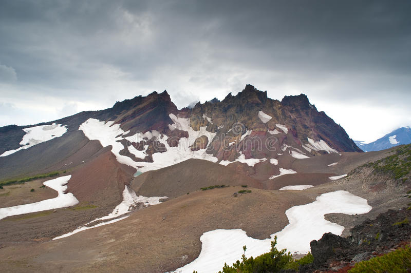 Download Storm above a mountain stock photo. Image of northwest - 17405006