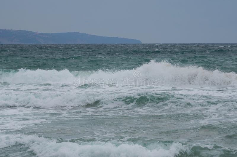 Storm on the Black Sea royalty free stock photos