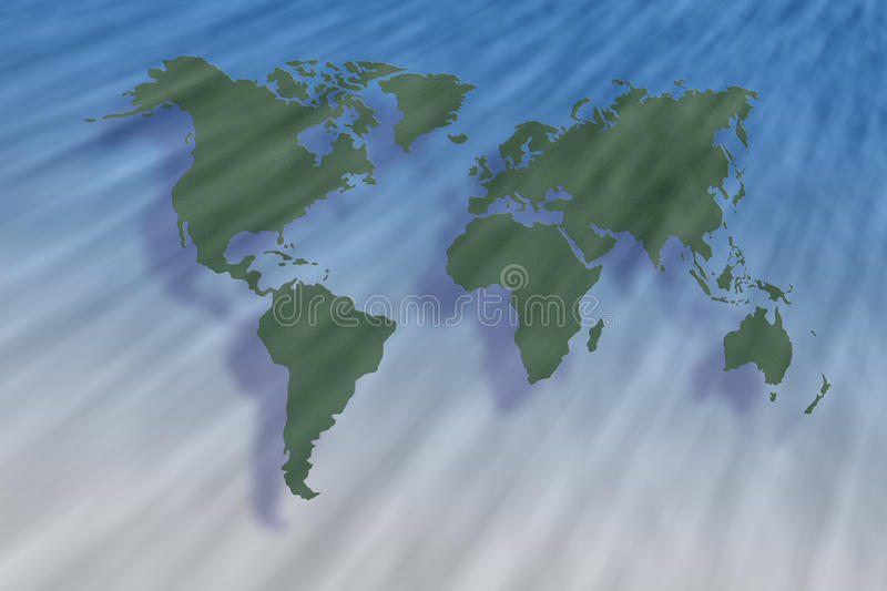 Download Storm blow stock illustration. Image of country, atlas - 23978170