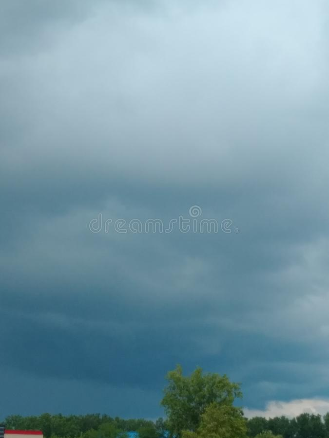 A Storm is Brewing royalty free stock photos