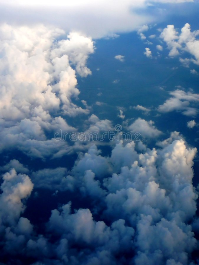 Storm brewing below royalty free stock images