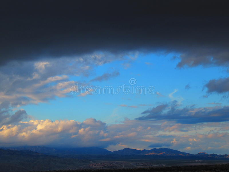 Storm brewing royalty free stock photography