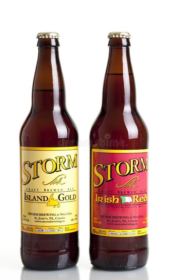 Storm Brewing royalty-vrije stock afbeelding