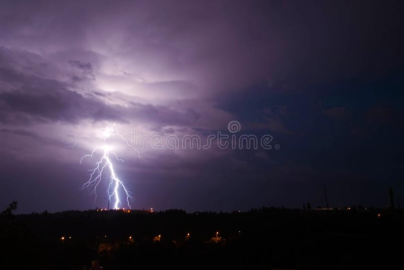 The storm royalty free stock images