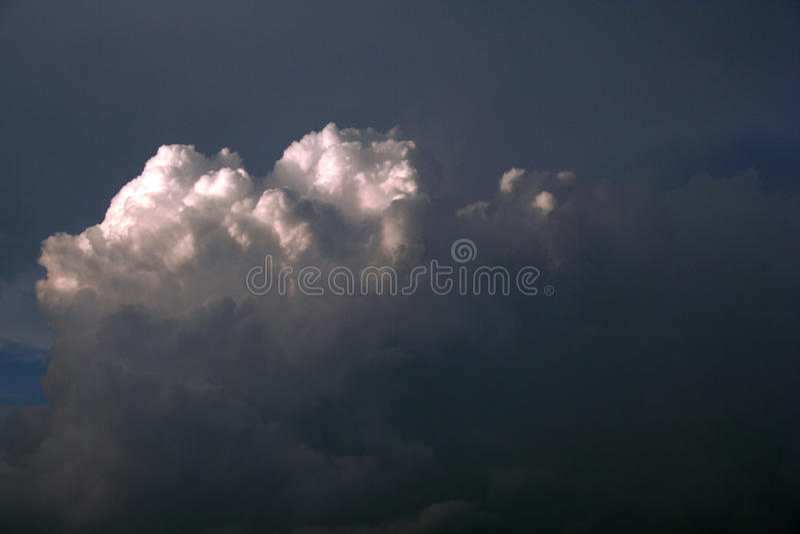 Storm Cloud stock image