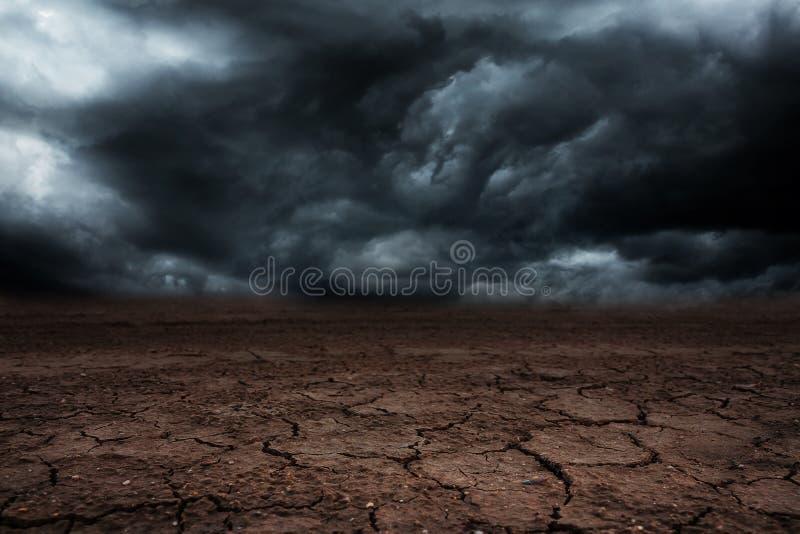 Storm cloud with rain. stock photos