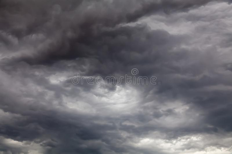 Storm cloud skies 0236. Beautiful clouds and sky background over England UK stock photo