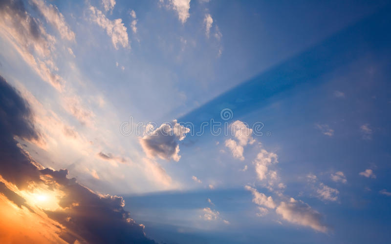 Storm clouds. royalty free stock photography