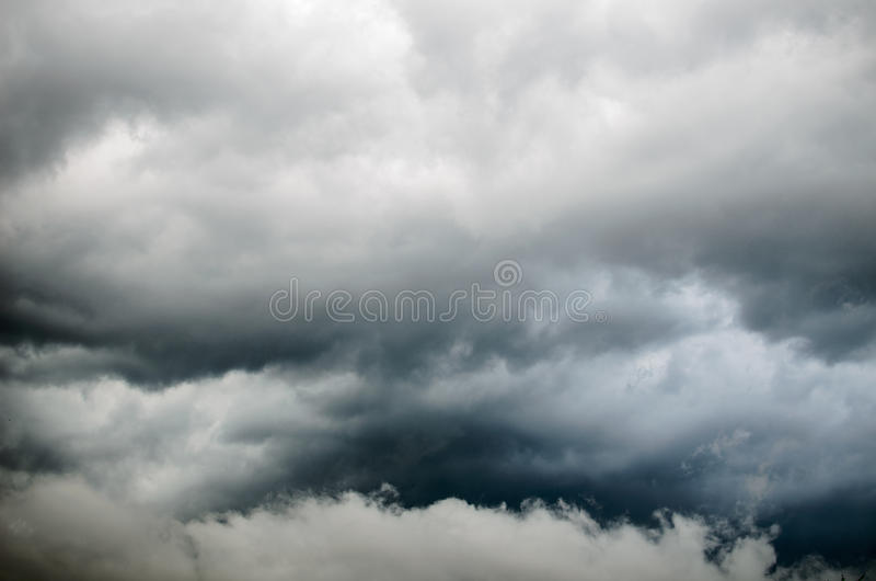 Storm clouds. Background of storm clouds before a thunder-storm royalty free stock images