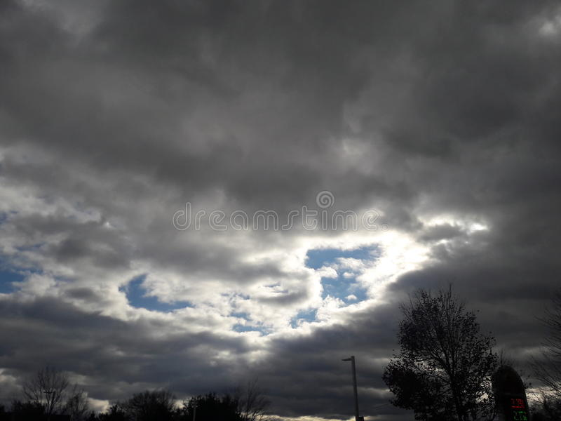 Storm Clouds royalty free stock images
