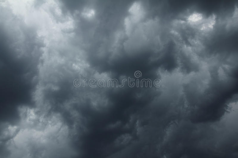 Download Storm clouds on moody sky stock image. Image of horizontal - 20327245