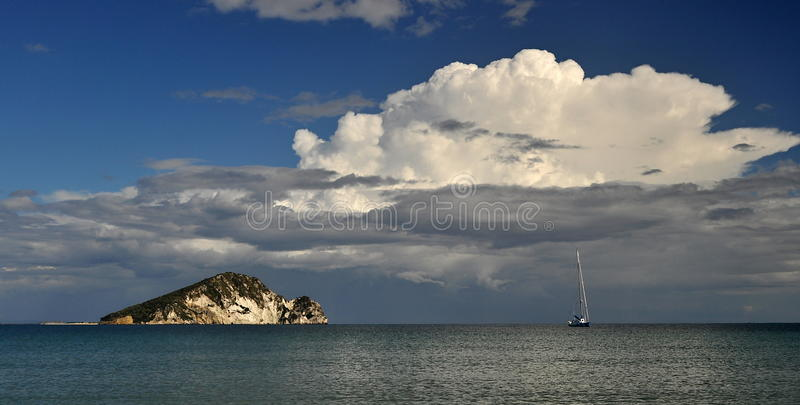 Download Storm Clouds Over The Island Stock Photo - Image: 34564996