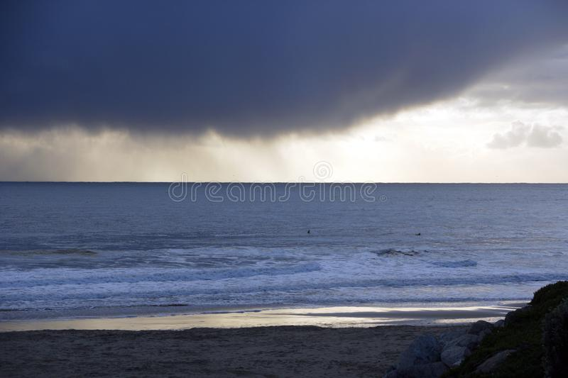 Download Storm Clouds Over The Ocean Stock Photo - Image: 7848374