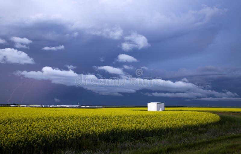 Storm Clouds Saskatchewan stock photo