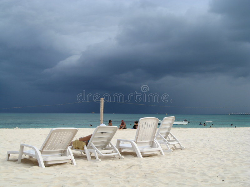 Storm coming in royalty free stock image