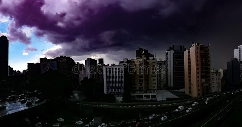 The storm is coming! royalty free stock images