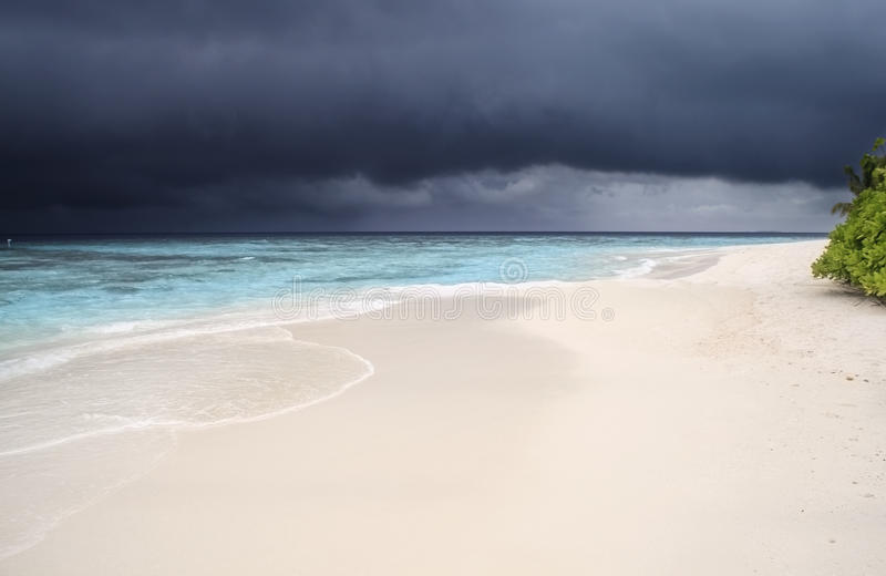 Download Storm Is Coming To The Maldives Stock Photo - Image of maldives, rain: 39514968
