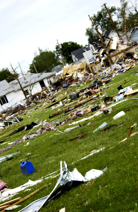 Download Storm damage stock photo. Image of condemned, collapsed - 22391486