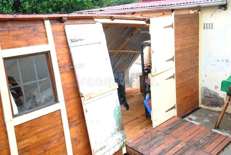 Storm damage 4 stock photos