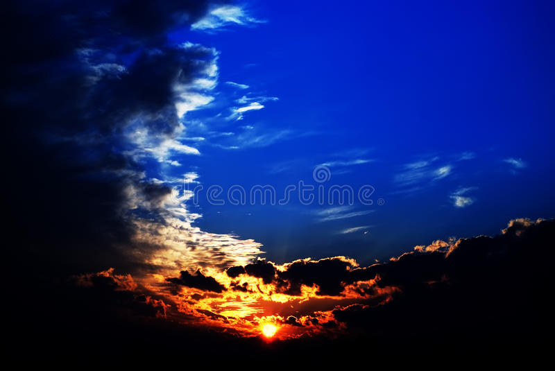 Download Storm dark clouds stock photo. Image of image, bright - 18373954