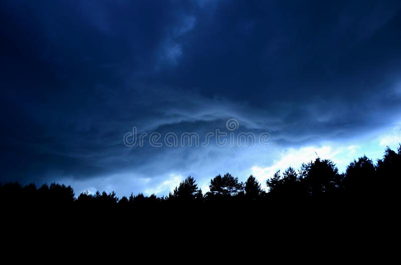 Storm royalty free stock images
