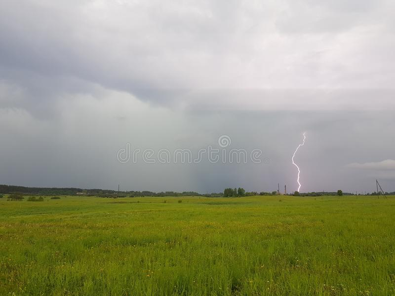 Before storm stock image