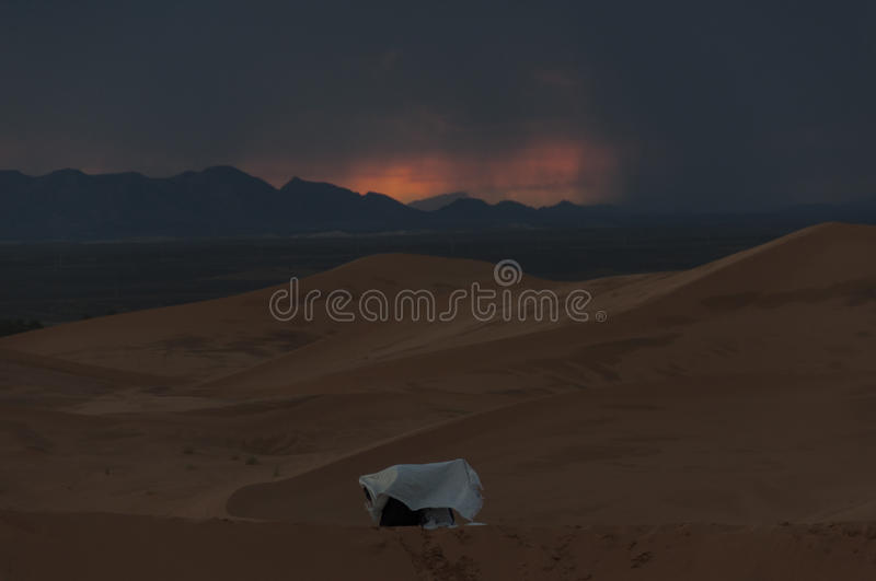 Download Storm In The Desert Stock Photo - Image: 83196379