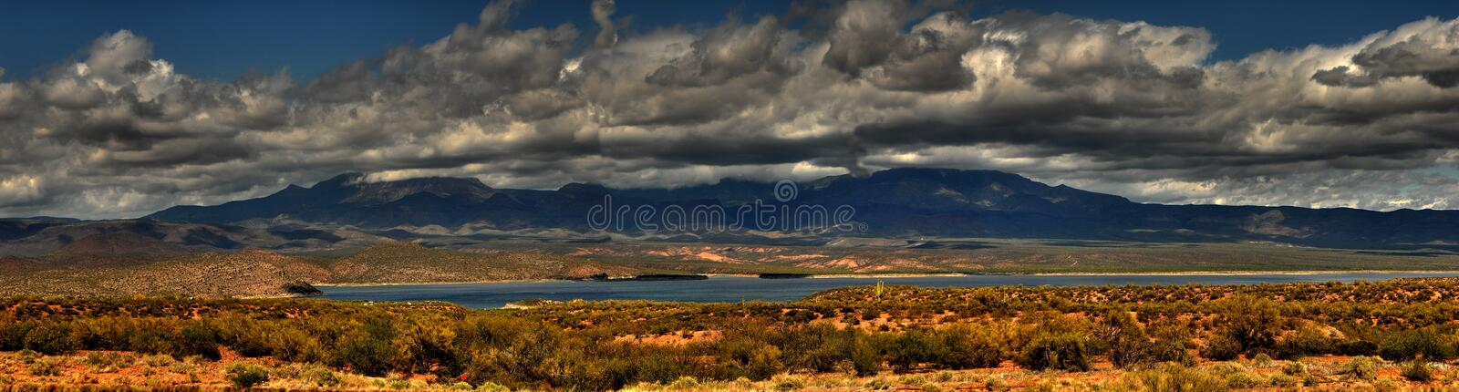 Download Storm Desert Mountain Panorama Stock Photo - Image of mesquite, park: 2308076