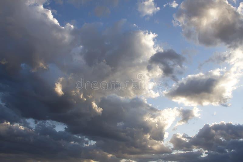 storm för arizona oklarhetsskies arkivfoto