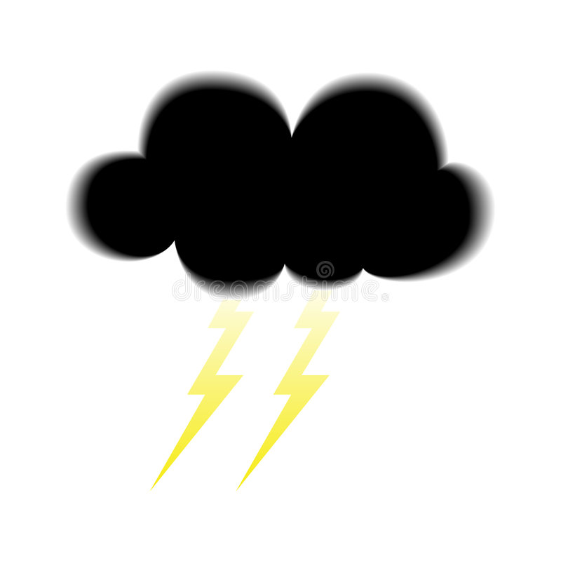 Download Storm Icon Royalty Free Stock Images - Image: 6573689