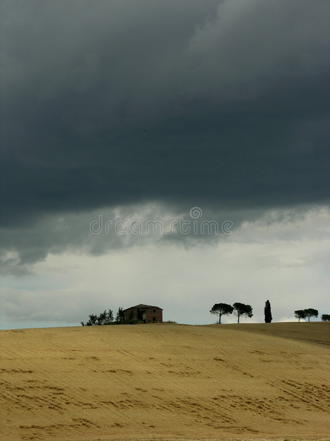 Free Storm In The Summer Royalty Free Stock Images - 178079
