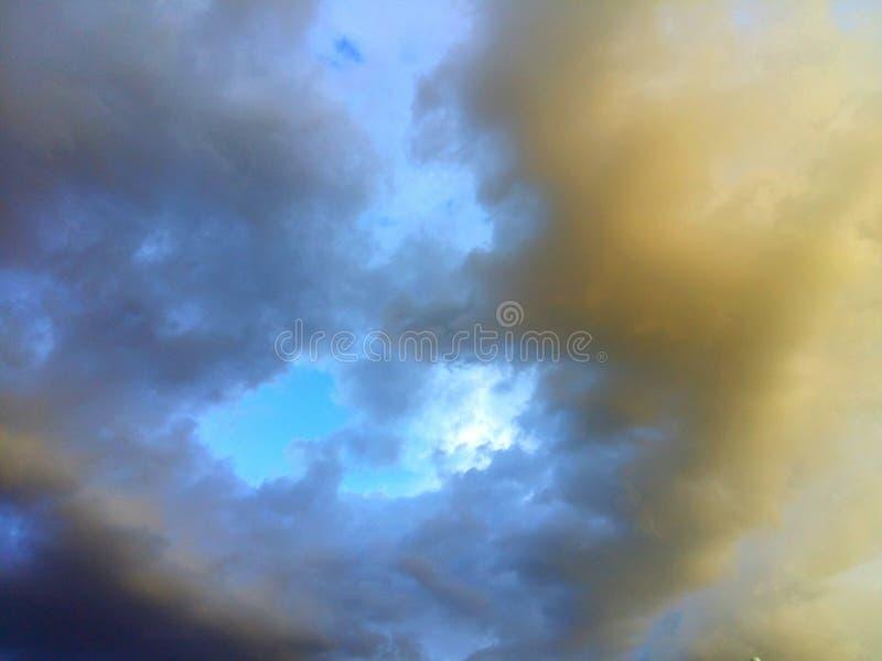 Storm komst stock foto