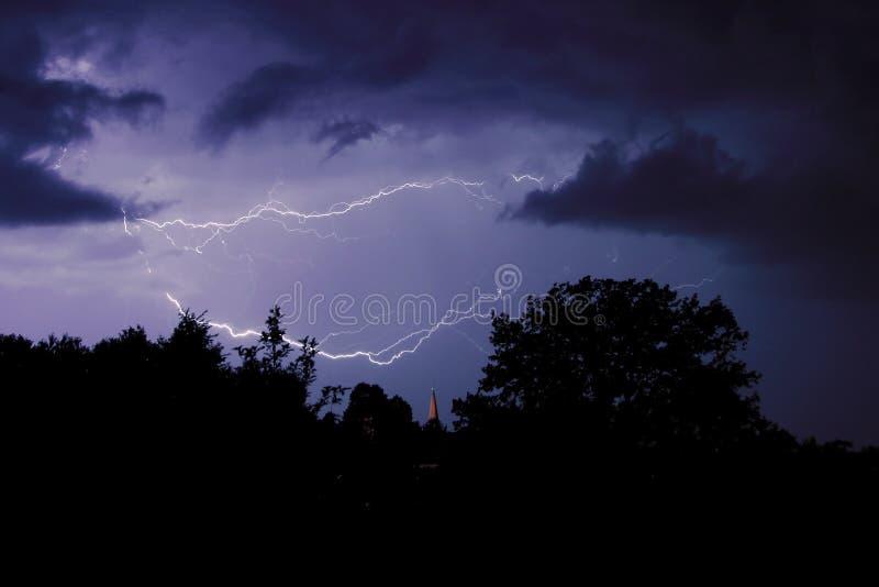 Storm royalty free stock photos
