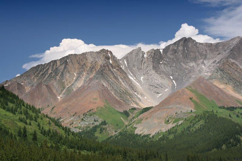 Storm Mountain, Canada photos libres de droits