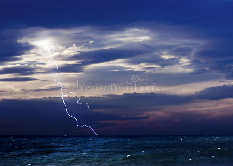 Download Storm and The Sea stock photo. Image of cloudscape, danger - 11812012